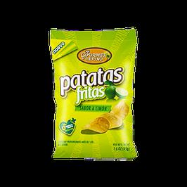 Papas Sabor Limon 45 gr