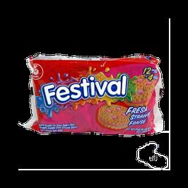 Galletas Festival Fresa 403 gr