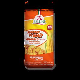Harina de Maiz Amarillo 1 kg Bellini