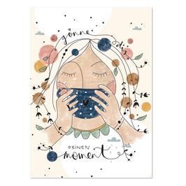 """Postkarte """"Dein Moment"""""""