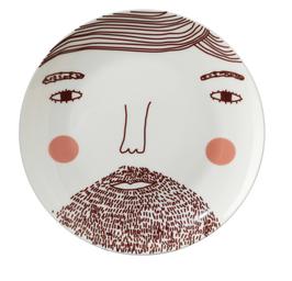 Beardy Man Plate