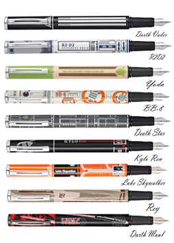 Sheaffer Pop Star Wars fountain pens
