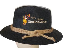"""Seilhut """" Strassenwärter! """" 169 155 ANTRA"""