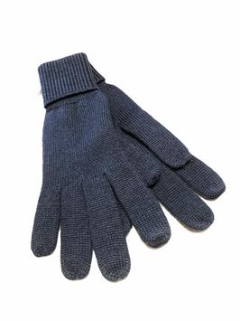 Hr. Handschuh 100% Wolle 81005 007 dblau
