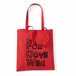Fox Devil Wild Einkaufsbeutel