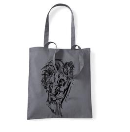 Löwe - Jutebeutel
