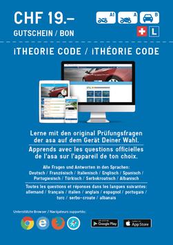 iTheorie Freischaltcode (Aktionspreis CHF 16.00 statt CHF 19.00)