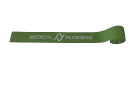 Medical Flossing 2.1m x 5cm x 1.3mm grün