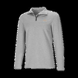 Ypsilon Herren Langarm Shirt mit Stehkragen und Reissverschluss