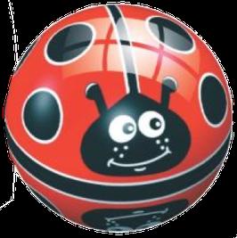 Ball 23 cm Marienkäfer