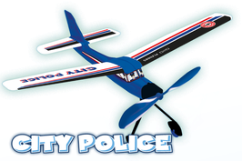 City Police Segelflugmodelle