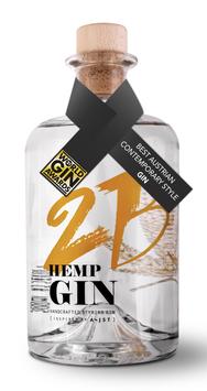 2B HEMP GIN - HANDCRAFTED STYRIAN GIN 43,5% Vol. (INSPIRED BY AEIJST)