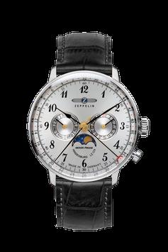 Zeppelin Herrenuhr Mondphase Swiss Movement 70361