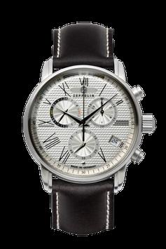 Zeppelin Business Line , Chronograph, GMT, Swiss Movement ETA, 76944
