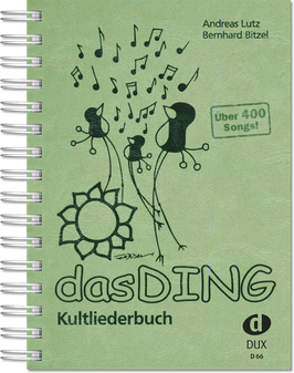 Das Ding Band 1 - Kultliederbuch mit Texten und Akkordsymbolen