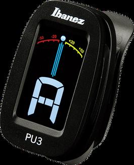 IBANEZ PU3-BK Clip-Tuner (Klammer-Stimmgerät)