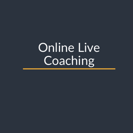 Coaching 1 on 1 with Zoom