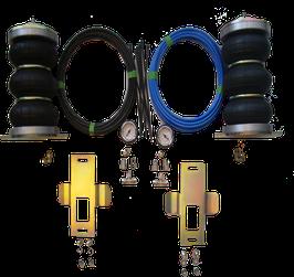Sospensione Pneumatiche Z6 ad Aria ZFA250 Fiat Ducato / Citroen Jumper / Peugeot Boxer compreso Pannello Manometro X250 e Compressor 12V