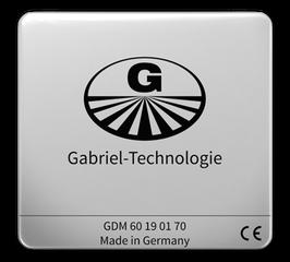 Gabriel-Chip iPhone mit fest integriertem Akku, silber, iPhone 8-11 (DEGDM60SI70)