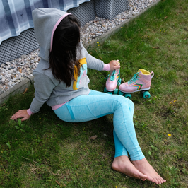 "Leggins ""mint meliert"""