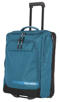 Trolley-, Rollenreisetasche Travelite Kick Off S in Petrol