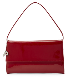 Ledertasche Clutch Picard in Rot Lack