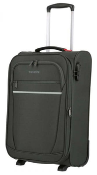 Reisetrolley Travelite 55cm,  Cabin Dehnfalte 2-Rad in Anthrazite