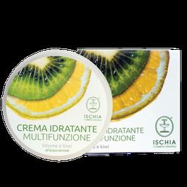 Crema idratante multifunzione limone e kiwi Ischia cosmetici naturali