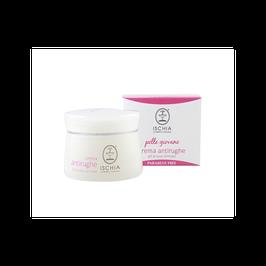 Crema antirughe pelle giovane Ischia cosmetici naturali