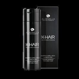 shampoo capelli ricci ai semi di lino Alkemilla