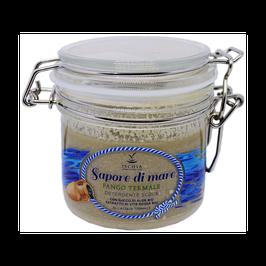 Sapone scrub sapore di mare fango termale Ischia sorgente di bellezza