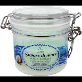 Sapone scrub sapore di mare bava di lumaca Ischia sorgente di bellezza