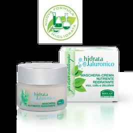 maschera crema nutriente reidratante hjdrata ialuronico elisir antitempo helan