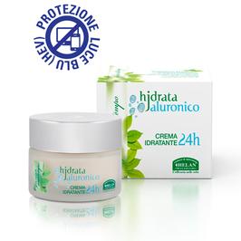 crema idratante 24h Hjdrata Jaluronico Elisir antitempo Helan