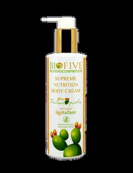 supreme nutrition body cream sicilian opuntia biofive