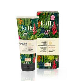 shampoo doccia gel profumato Kaffa di Helan
