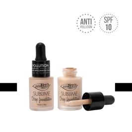 Sublime drop foundation Purobio cosmetics