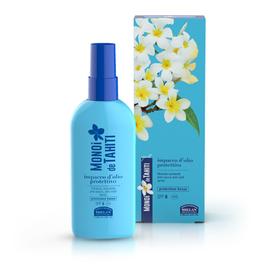 impacco d'olio protettivo spray per capelli monoi de tahiti helan