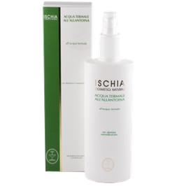 Acqua termale spray Ischia cosmetici naturali