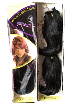 Classic weave hair extension color 1