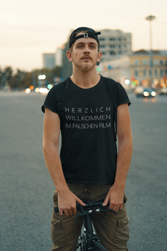 """T-Shirt """"Falscher Film"""""""
