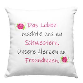 """Kissen """"Schwestern"""" 40 x 40 cm"""
