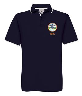 "Polo Shirt ""Carado Wohnmobil Freunde"""