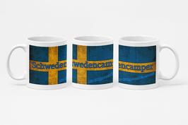 """Keramik Tasse """"Schwedencamper Logo"""""""