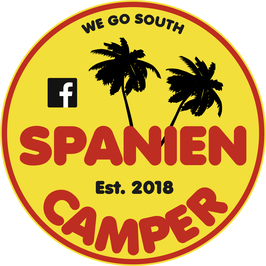Aufkleber Spaniencamper