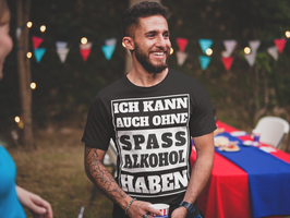 "T-Shirt ""Alkohol ohne Spaß"""