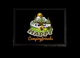 "Fußmatte ""Happy Campingfriends"""