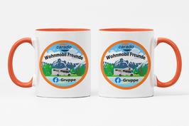 """Keramik Tasse """"Carado Wohnmobil Freunde"""""""