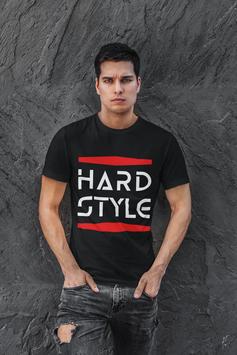 T-Shirt Hardstyle Basic Shirt für Männer