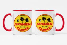 """Keramik Tasse """"Spaniencamper"""""""